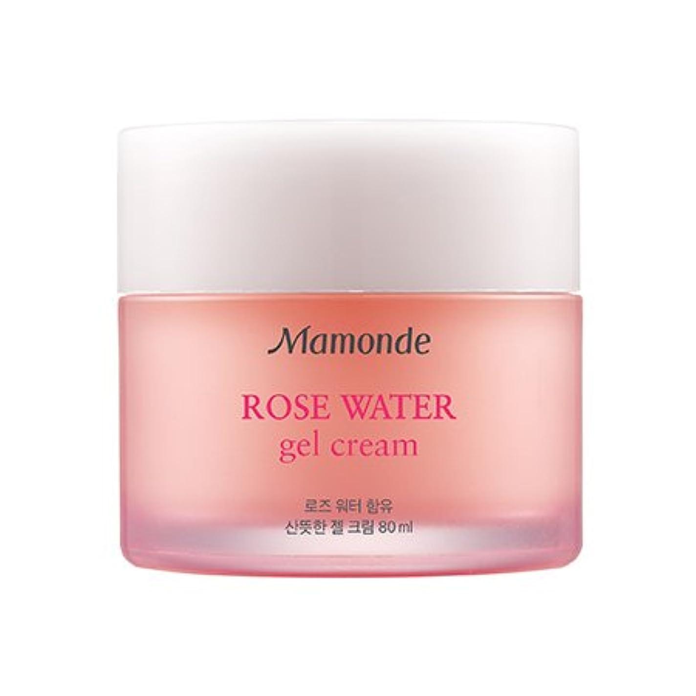 寺院少年Mamonde Rose Water Gel Cream 80ml/マモンド ローズ ウォーター ジェル クリーム 80ml [並行輸入品]