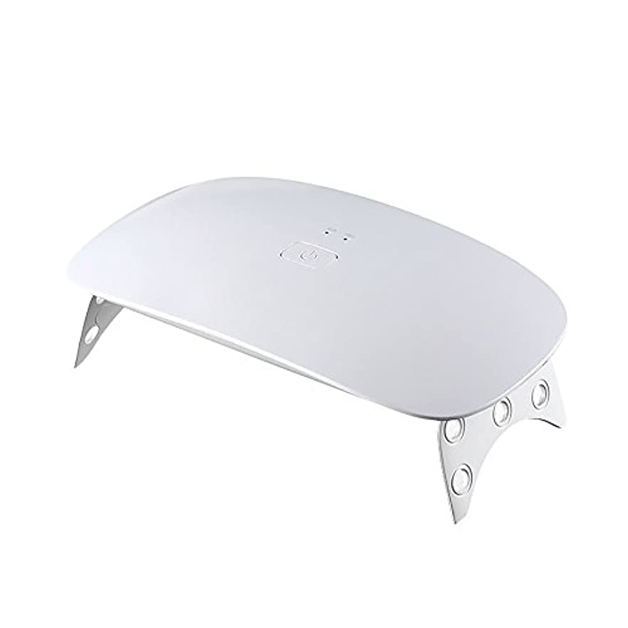 Ourine ジェルネイルライト LEDネイルドライヤー UVライト ネイルライト 手足両用 速乾 タイマー設定可能 時間設定 180度照射 折りたたみ 携帯便利