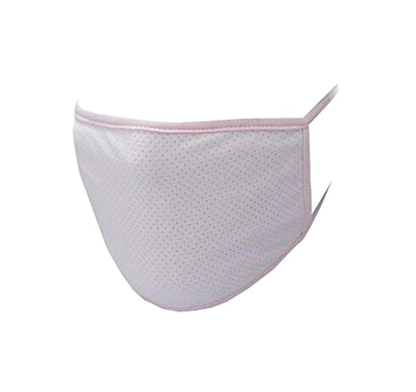 好意にぎやかローラー口マスク、再使用可能フィルター - 埃、花粉、アレルゲン、抗UV、およびインフルエンザ菌 - D