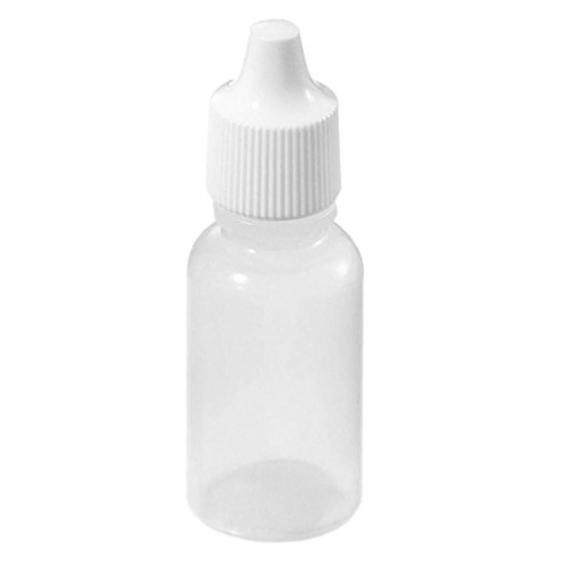 後方にわずらわしい傀儡CUHAWUDBA 50 x 空のプラスチックスクイーズ ドロッパーボトル(5ml)