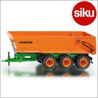 <ボーネルンド> Siku(ジク)社 輸入ミニカー 2892 ファーマー JOSKIN 3車軸式ティッパートレーラー 1/32