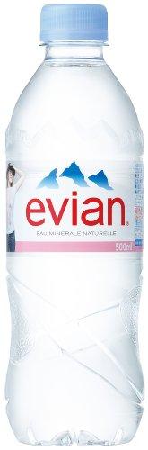 伊藤園 Evian(エビアン) ミネラルウォーター 500ml×24本 [正規輸入品]