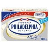森永 KRAFT クラフト フィラデルフィア クリームチーズ 200g