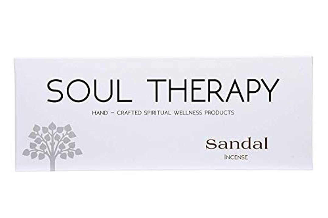 提出する安心服を片付けるBIC Panchavati Sandal Soultherapy Incense Sticks/Agarbatti (Pack of 6)