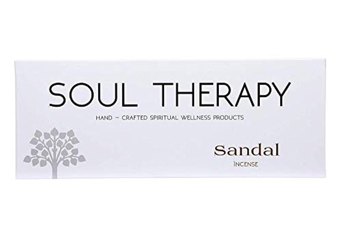 シーズン侮辱厳BIC Panchavati Sandal Soultherapy Incense Sticks/Agarbatti (Pack of 6)