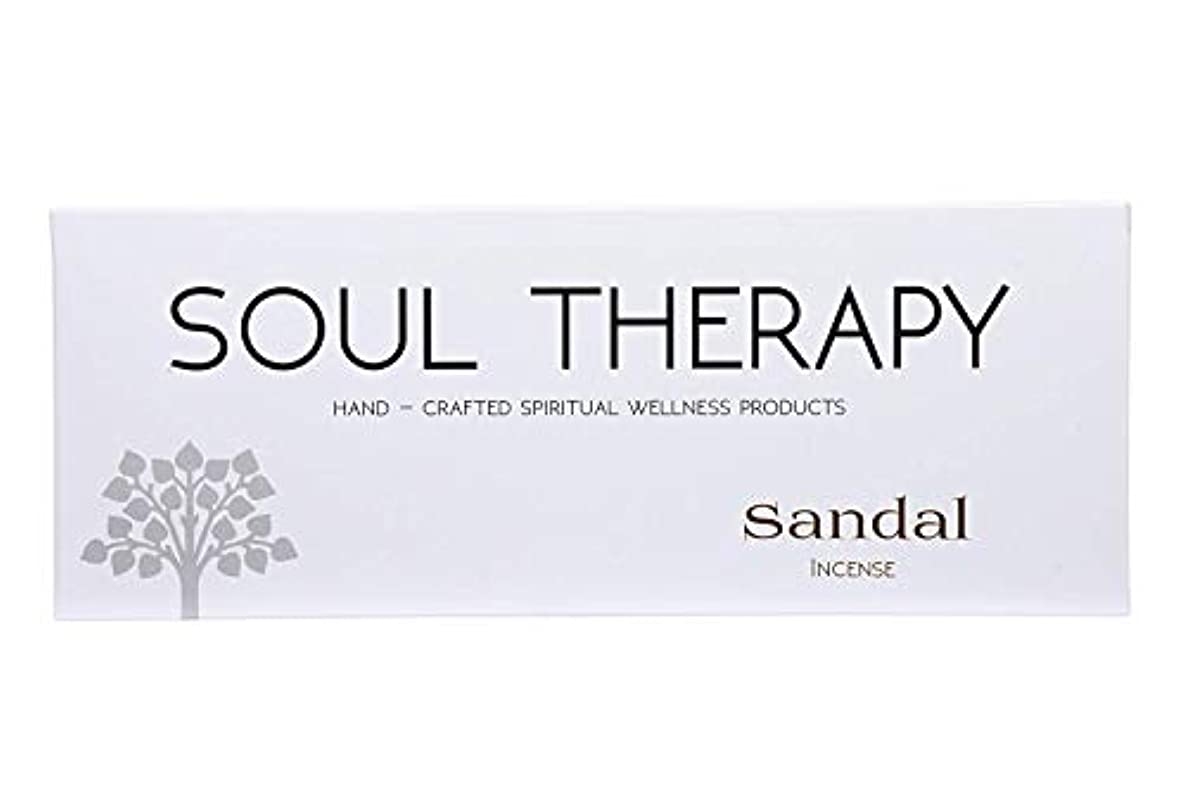 不快アフリカ人リビングルームBIC Panchavati Sandal Soultherapy Incense Sticks/Agarbatti (Pack of 6)