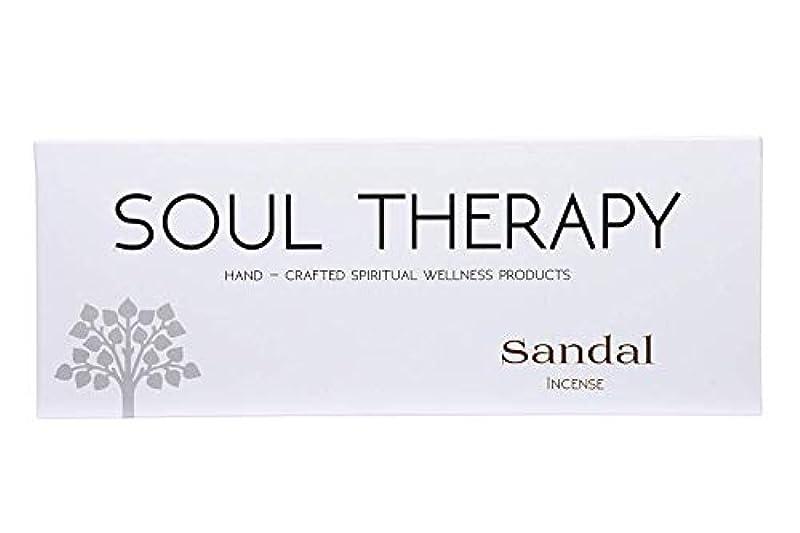 化石討論ラッカスBIC Panchavati Sandal Soultherapy Incense Sticks/Agarbatti (Pack of 6)