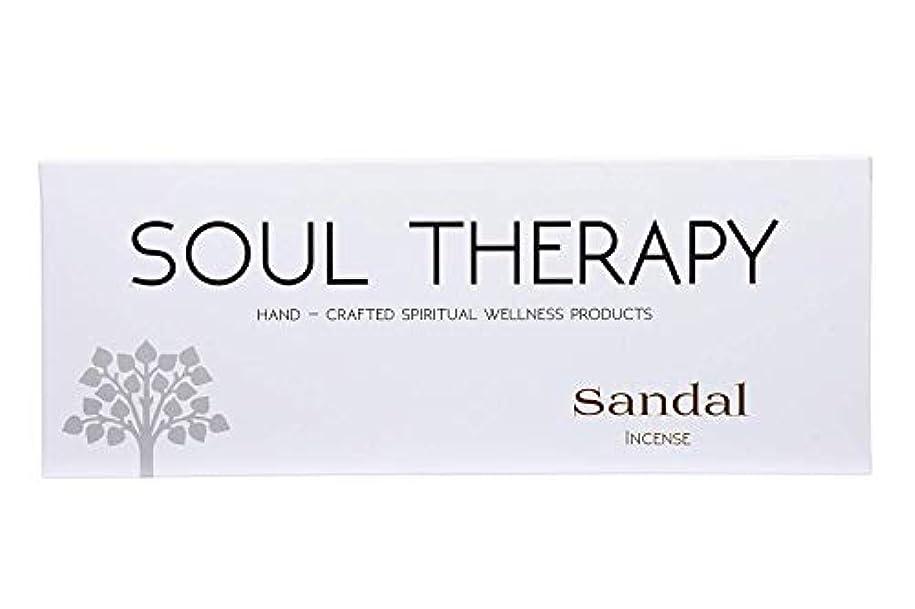 カジュアルお嬢落胆させるBIC Panchavati Sandal Soultherapy Incense Sticks/Agarbatti (Pack of 6)