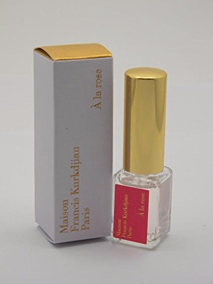 スポンジ牧師代わりのMaison Francis Kurkdjian A la Rose (メゾン フランシス クルジャン ア ラ ローズ) 0.17 oz (5ml) EDP Travel Spray (トラベル スプレー)for Women