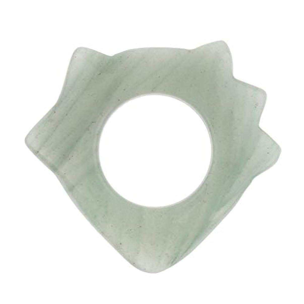 契約した考慮漏れPerfeclan かっさプレート マッサージ 美顔 天然翡翠 高品質 ポータブル ギフト 健康用品 疲労緩解 5種選ぶ - 1