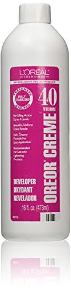 Loreal Oreor Creme 40 Volume Developer 16 Oz. (並行輸入品)