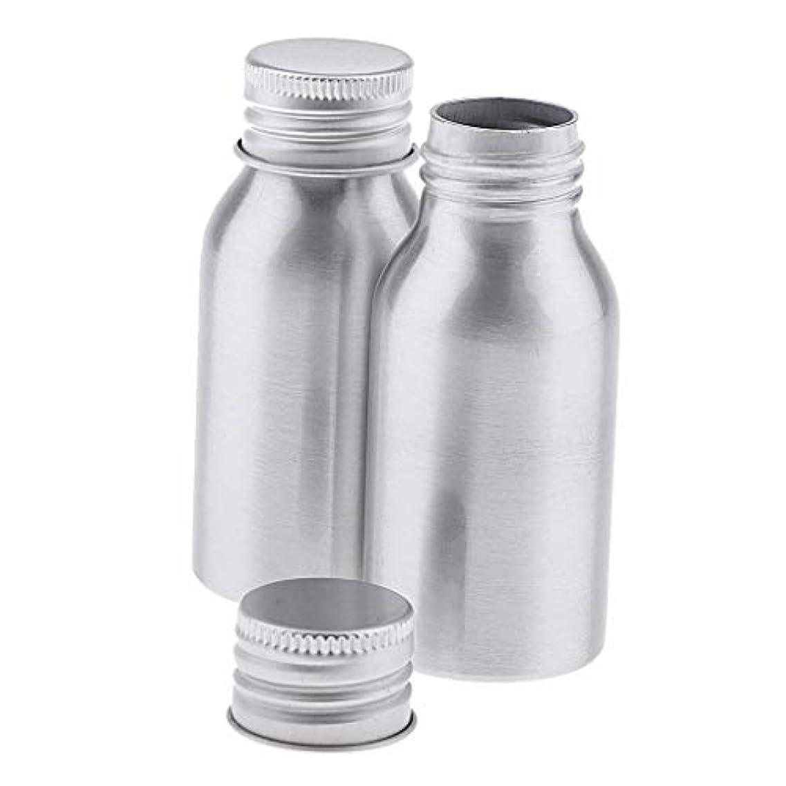 旋回ベーカリー担保Sharplace アルミボトル 40ml DIY コスメ用詰替え容器 旅行 化粧ボトル 2本入り