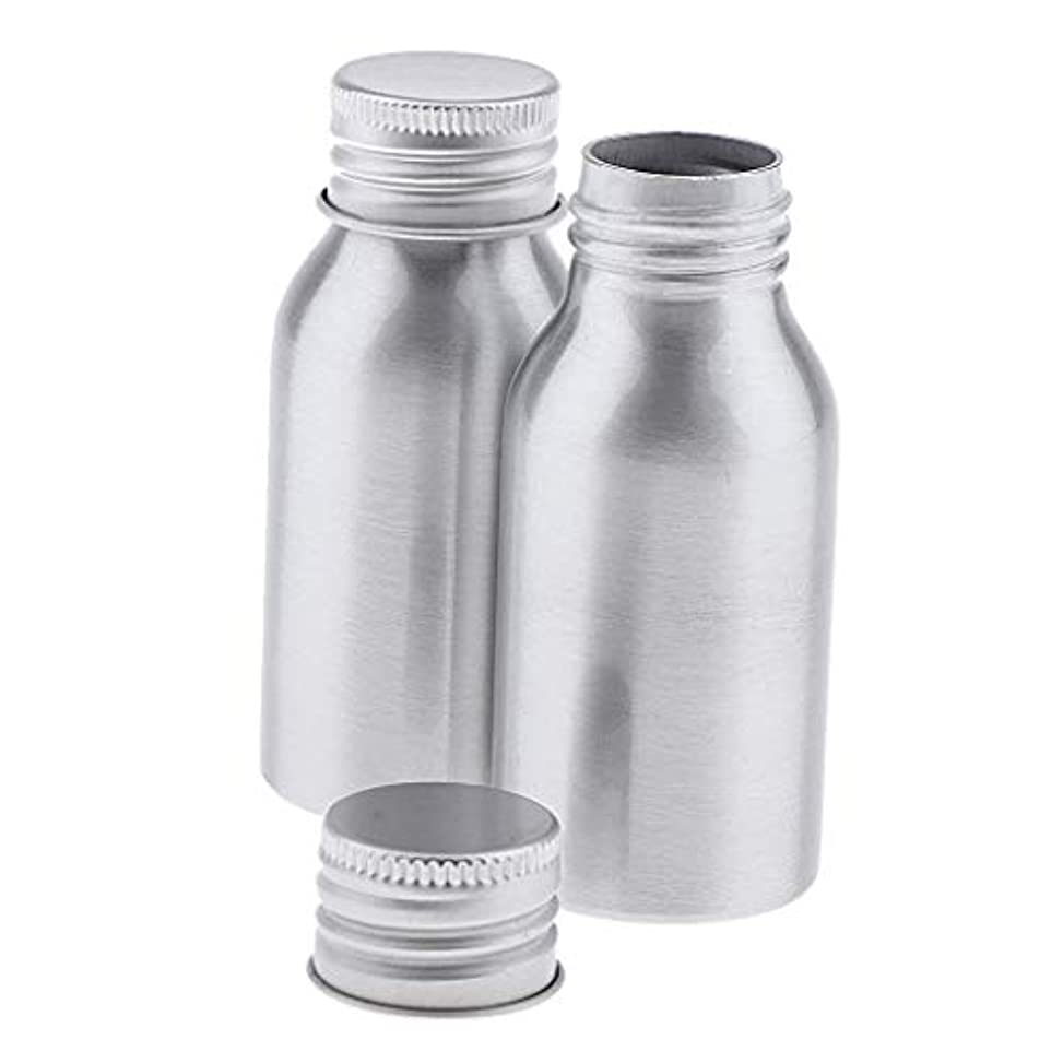 調停する高い変化するSharplace アルミボトル 40ml DIY コスメ用詰替え容器 旅行 化粧ボトル 2本入り