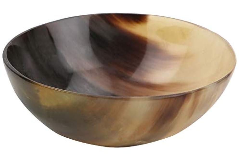 後世カップ菊Handicrafts Home 牛の角 シェーブボウル シェービングソープカップ ボウル マグ パームディッシュ リアルハンドメイド サイズ5インチ 感謝祭ギフト