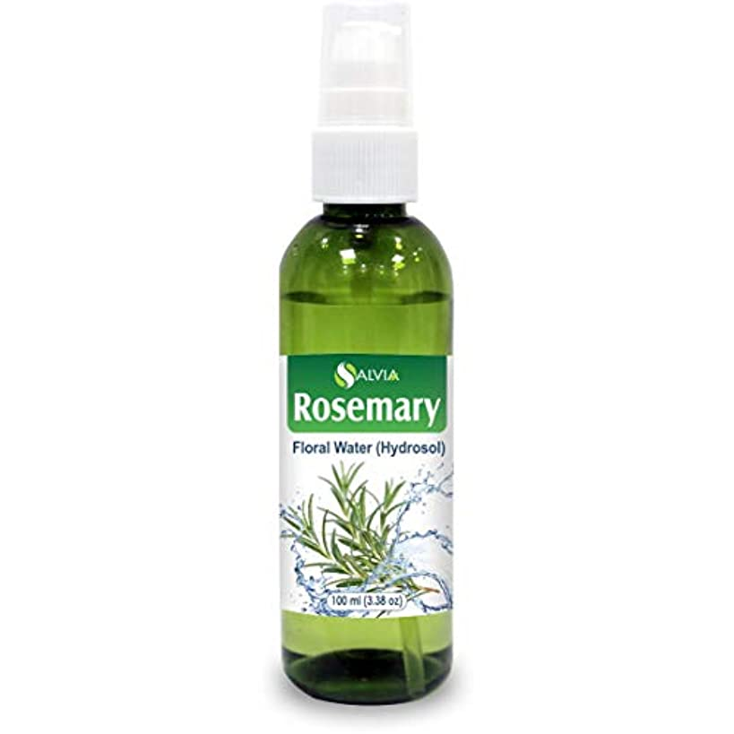 恥密度番目Rosemary Floral Water 100ml (Hydrosol) 100% Pure And Natural