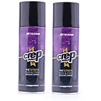Crep Protect Ultimate Rain & Stain Shoe Spray 5oz 200ml 2-Pack Bundle