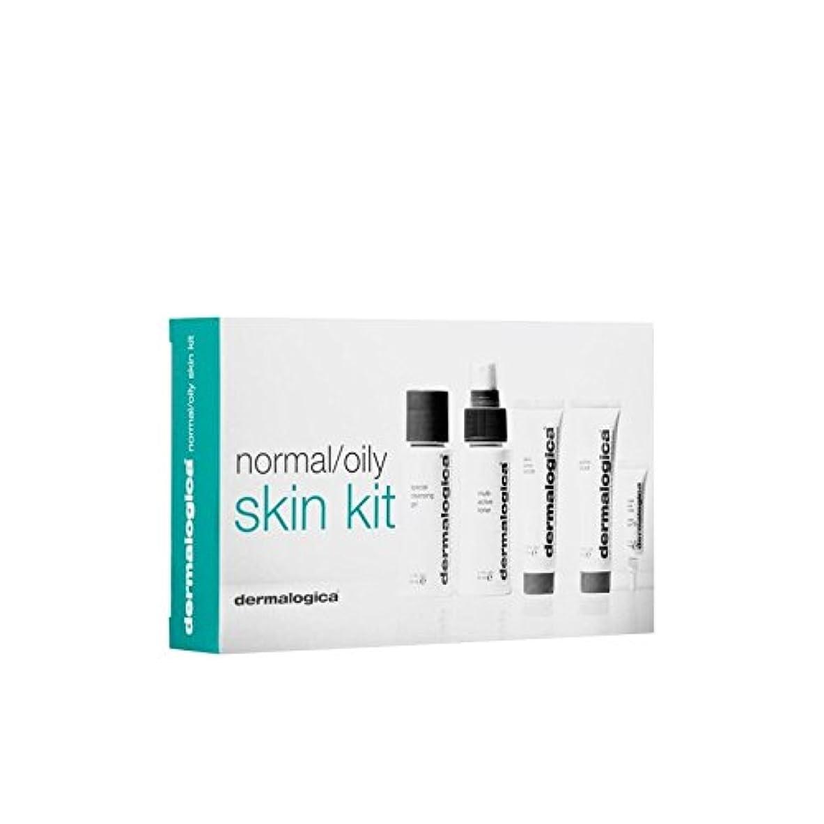 戦う愛する不器用ダーマロジカスキンキット - ノーマル/オイリー(5製品) x4 - Dermalogica Skin Kit - Normal/Oily (5 Products) (Pack of 4) [並行輸入品]