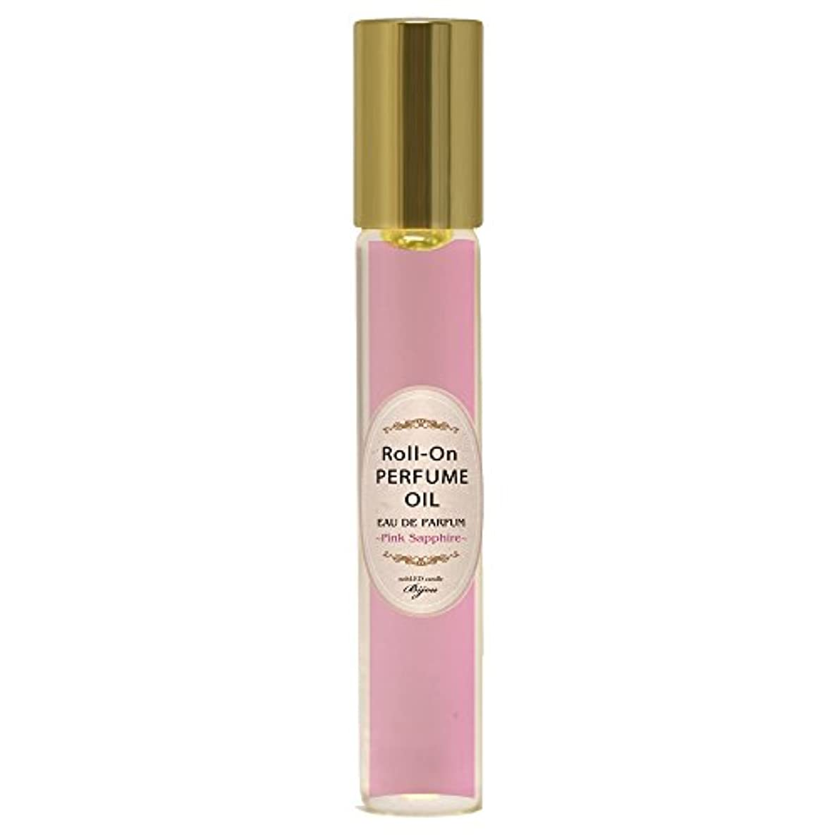 添付極めて重要な斧nobLED candle Bijou ロールオンパフュームオイル ピンクサファイア Pink Sapphire Roll-On PERFUME OIL ノーブレッド キャンドル ビジュー