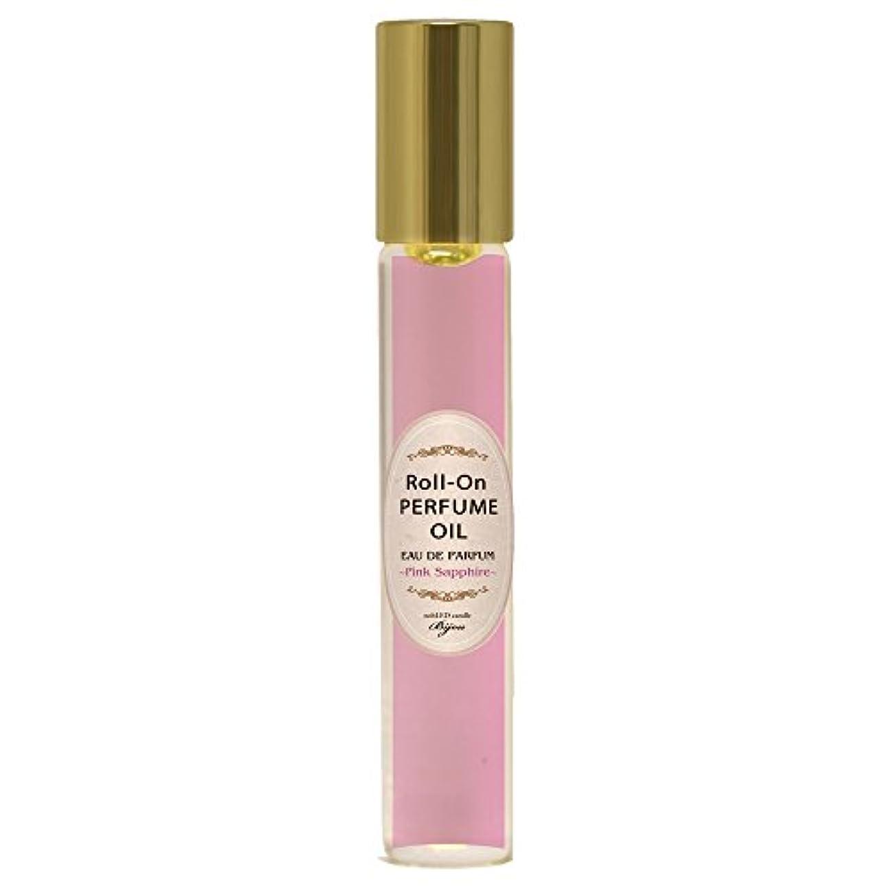 農民彼感謝するnobLED candle Bijou ロールオンパフュームオイル ピンクサファイア Pink Sapphire Roll-On PERFUME OIL ノーブレッド キャンドル ビジュー