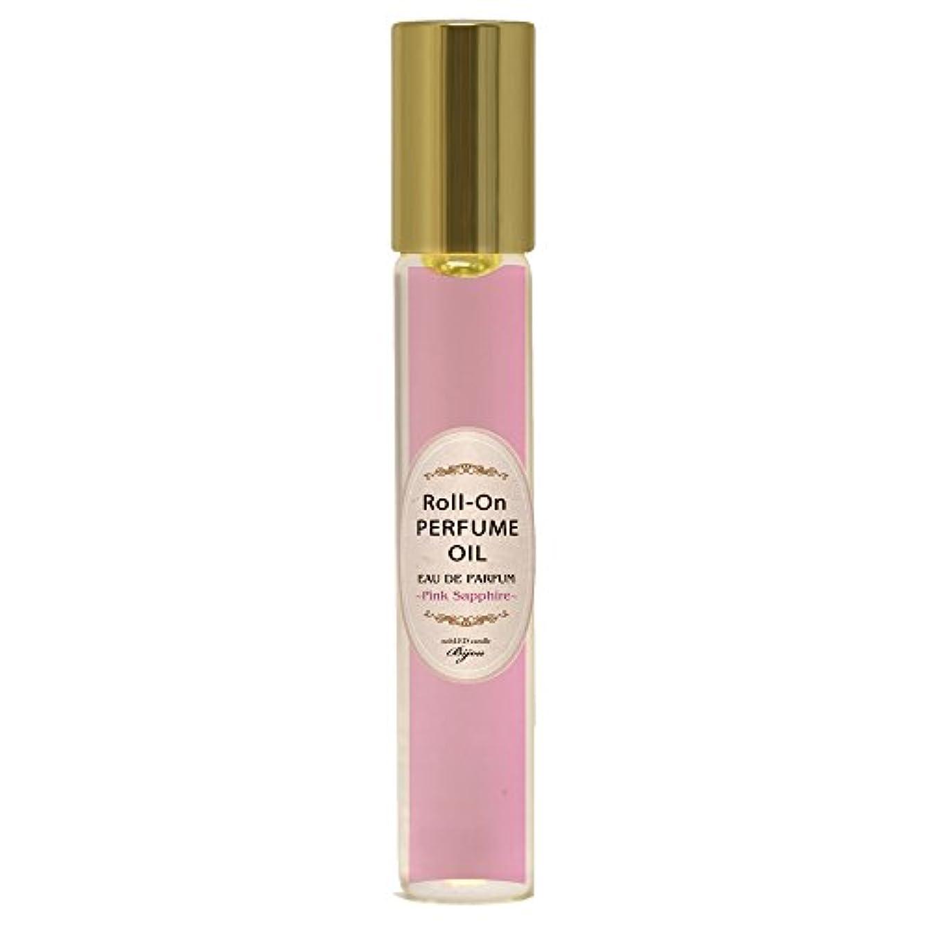 舌ネーピア狐nobLED candle Bijou ロールオンパフュームオイル ピンクサファイア Pink Sapphire Roll-On PERFUME OIL ノーブレッド キャンドル ビジュー