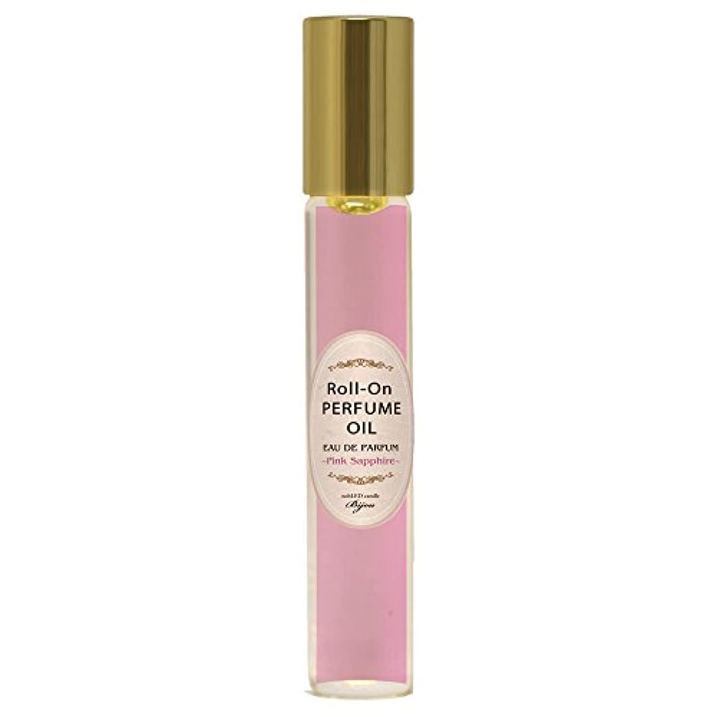 nobLED candle Bijou ロールオンパフュームオイル ピンクサファイア Pink Sapphire Roll-On PERFUME OIL ノーブレッド キャンドル ビジュー