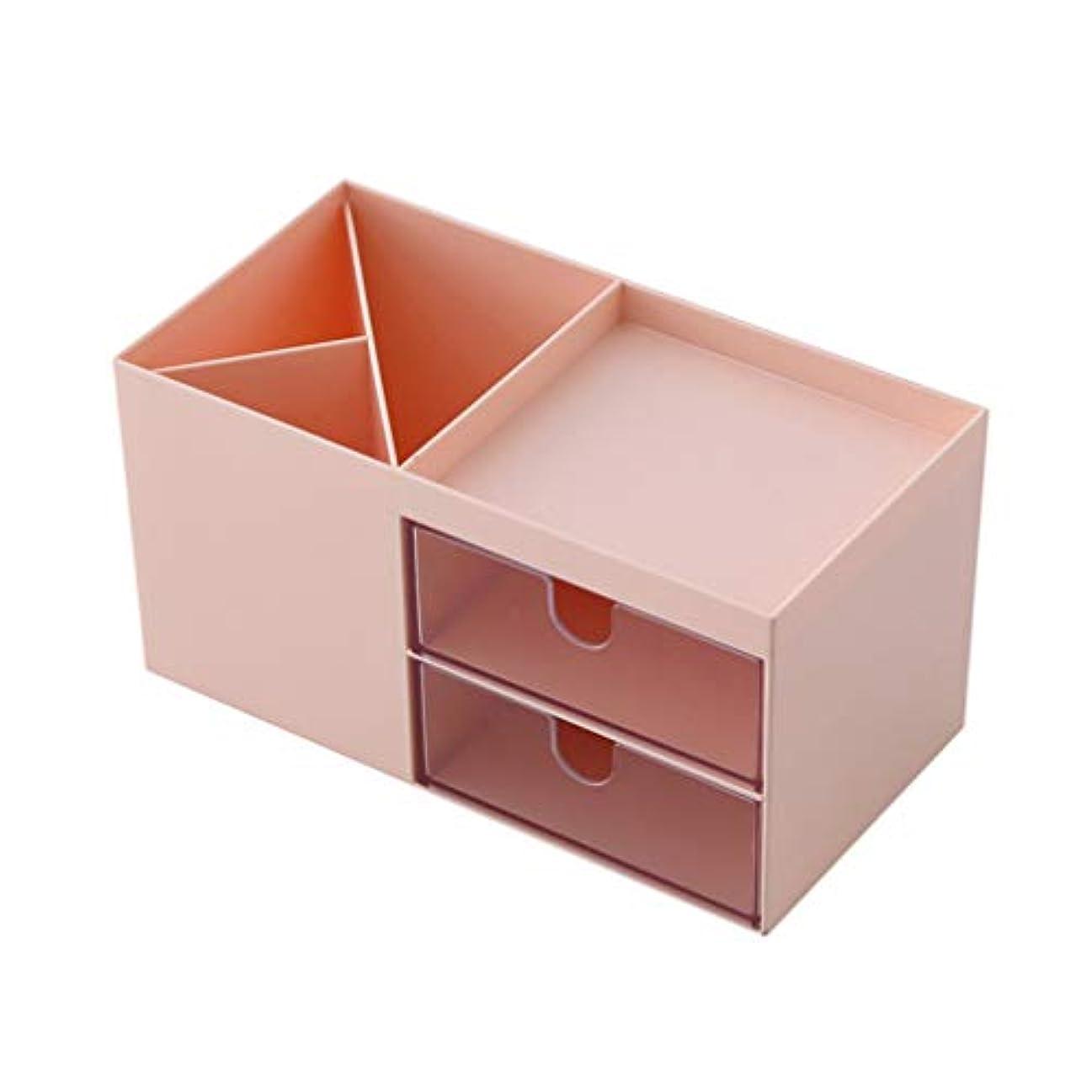 アクティブ機転編集者NUOBESTY Cosmetic Box Makeup Table Storager Case Compartments Storage Case Container Women Men