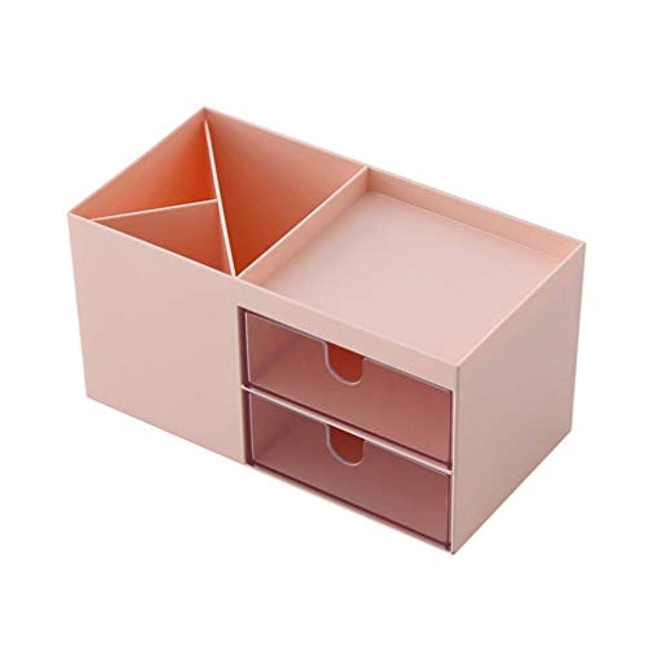 まもなく均等にチャネルNUOBESTY Cosmetic Box Makeup Table Storager Case Compartments Storage Case Container Women Men