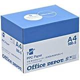 オフィス・デポ オリジナル エクストラクオリティー コピー用紙 A4(箱) 1箱(500枚×5冊) SKU:40466
