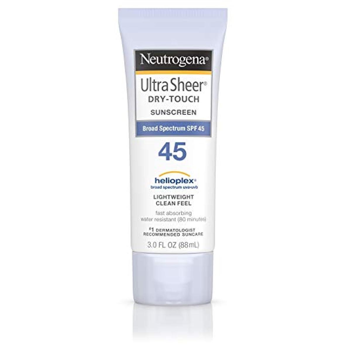 遠えハンバーガー対話海外直送品 Neutrogena Neutrogena Ultra Sheer Dry-Touch Sunblock Spf 45【並行輸入品】