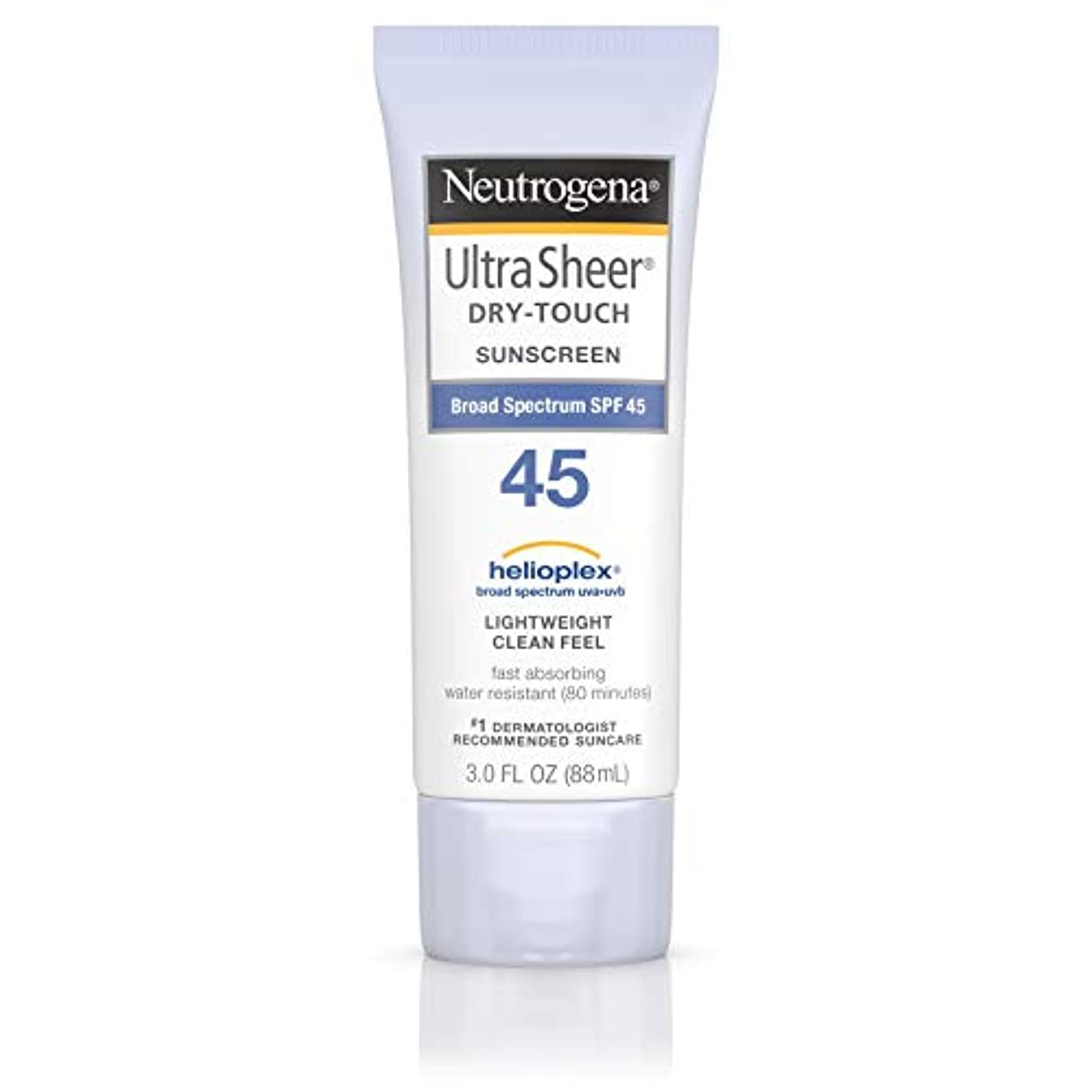 閉じ込める近代化台無しに海外直送品 Neutrogena Neutrogena Ultra Sheer Dry-Touch Sunblock Spf 45【並行輸入品】