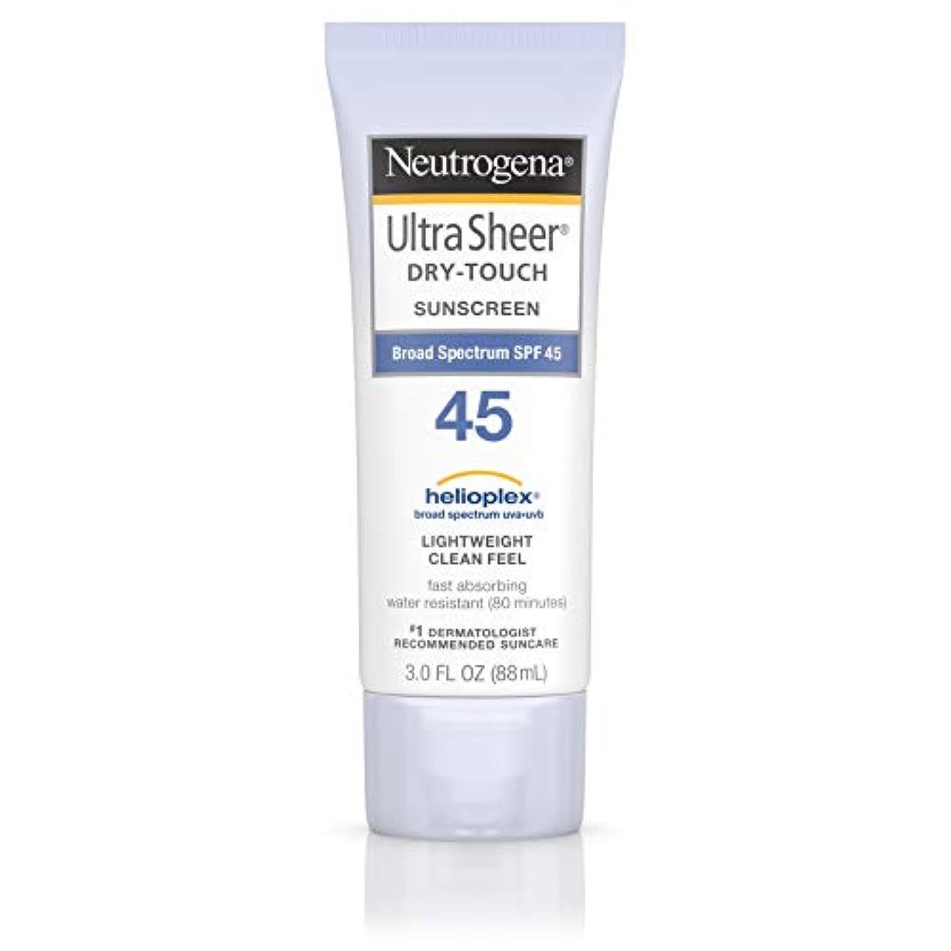 憤る成熟した雑品海外直送品 Neutrogena Neutrogena Ultra Sheer Dry-Touch Sunblock Spf 45【並行輸入品】