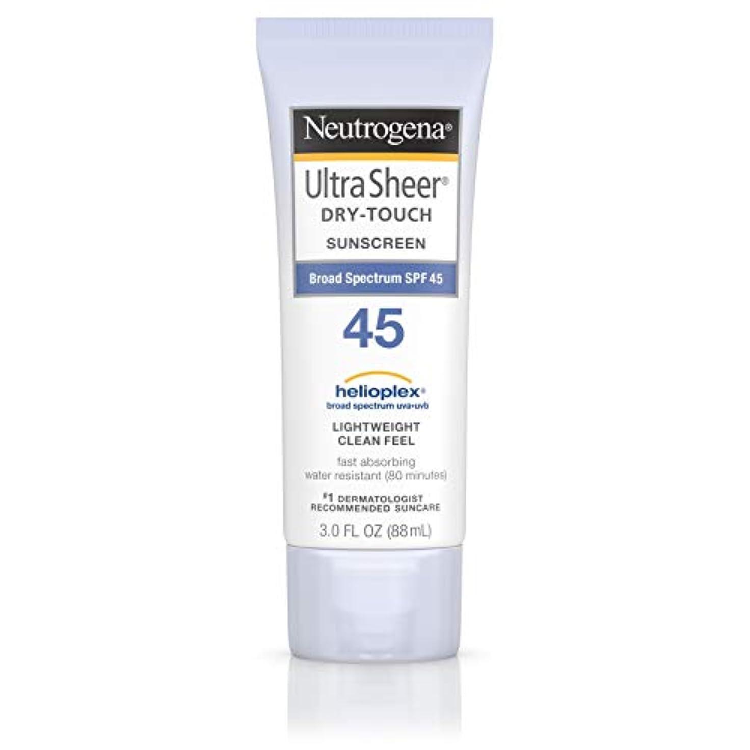 希少性シニス犯すNeutrogena Ultra Sheer dry-touch Sunscreen Broad Spectrum