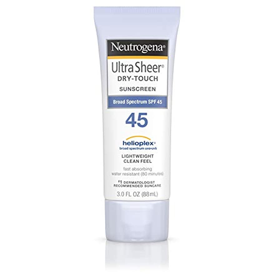 巨人オッズ不正海外直送品 Neutrogena Neutrogena Ultra Sheer Dry-Touch Sunblock Spf 45【並行輸入品】