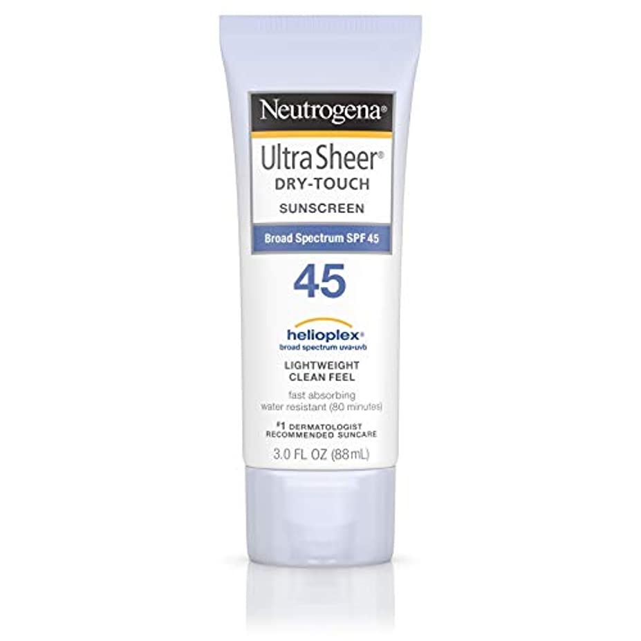 パックどれか血統海外直送品 Neutrogena Neutrogena Ultra Sheer Dry-Touch Sunblock Spf 45【並行輸入品】