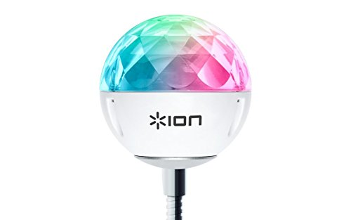 ION Audio Party Ball USB LEDライト ミラーボール 音声で光が変化