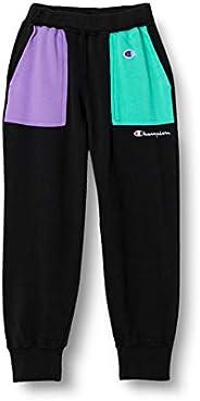 Champion CK-T204 Campus Boys Sweatpants, 100% Cotton, Script Logo, Campus