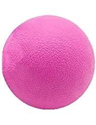 Tyou ロングホッケー ボール ストレッチ リリース マッサージボール 足部 マッサージボール 背中 筋肉 トレーニングボール ピンク