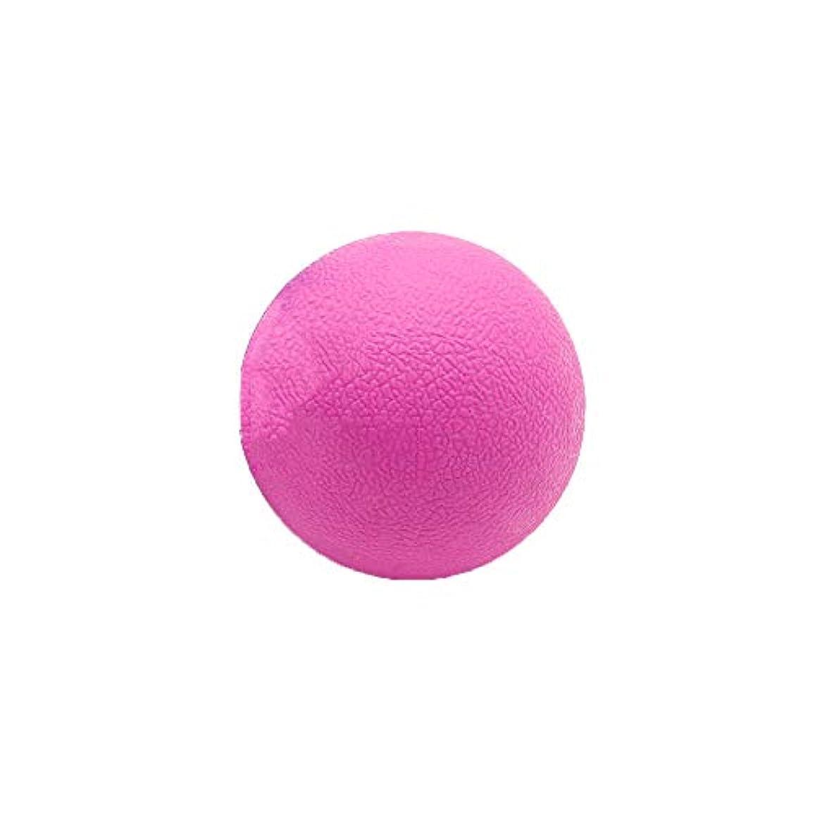 水っぽいフェードベーコンTyou ロングホッケー ボール ストレッチ リリース マッサージボール 足部 マッサージボール 背中 筋肉 トレーニングボール ピンク