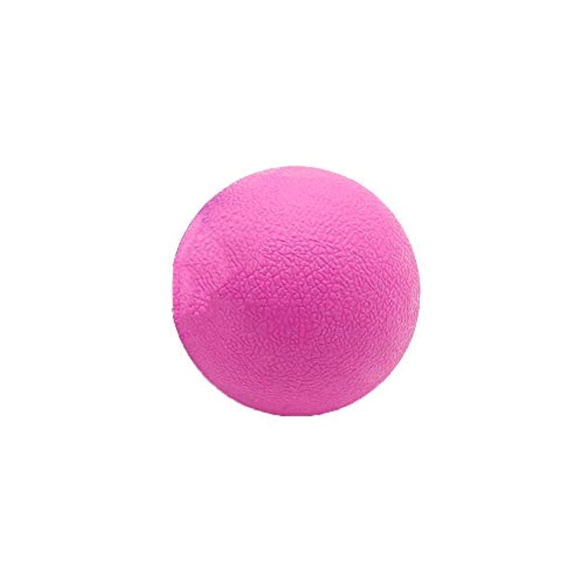 見通し代表して規定Tyou ロングホッケー ボール ストレッチ リリース マッサージボール 足部 マッサージボール 背中 筋肉 トレーニングボール ピンク