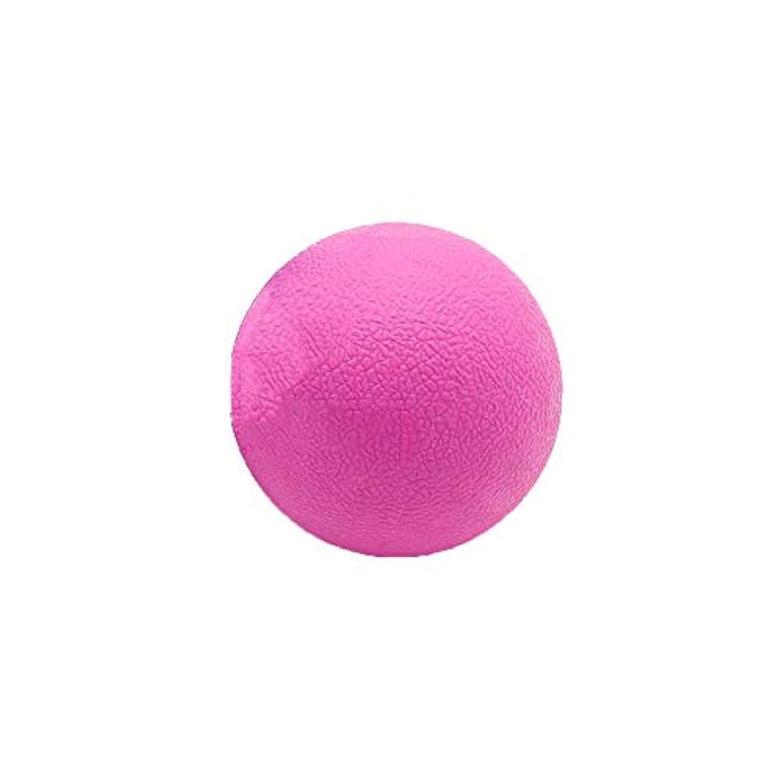 細分化する常習的場所Tyou ロングホッケー ボール ストレッチ リリース マッサージボール 足部 マッサージボール 背中 筋肉 トレーニングボール ピンク