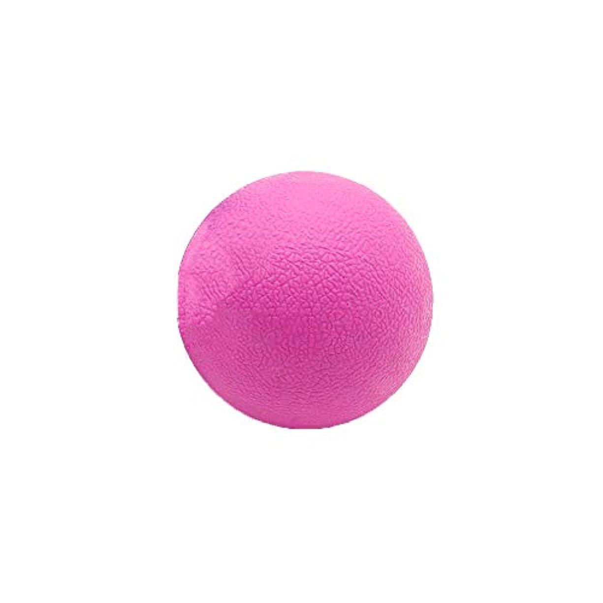液体スケート真似るTyou ロングホッケー ボール ストレッチ リリース マッサージボール 足部 マッサージボール 背中 筋肉 トレーニングボール ピンク