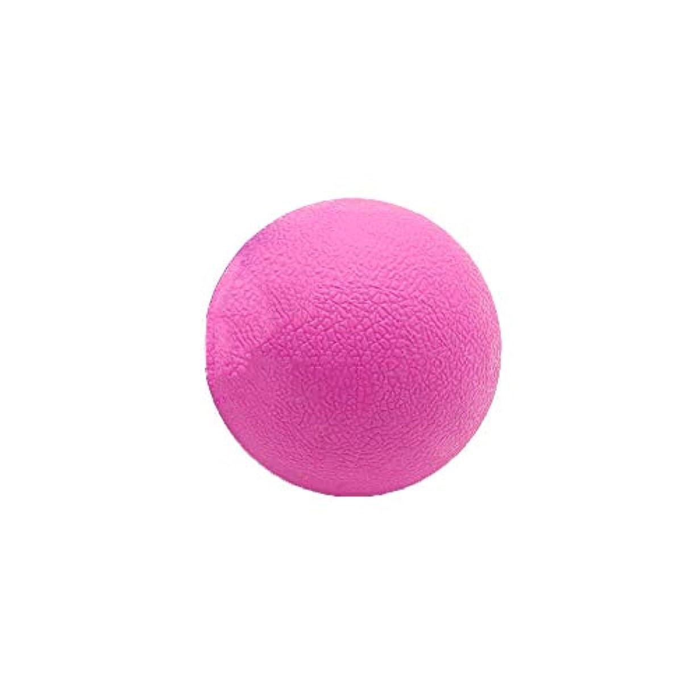 なかなか断線結果Tyou ロングホッケー ボール ストレッチ リリース マッサージボール 足部 マッサージボール 背中 筋肉 トレーニングボール ピンク