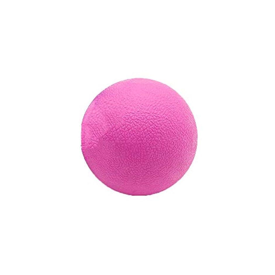 離れた結核オデュッセウスTyou ロングホッケー ボール ストレッチ リリース マッサージボール 足部 マッサージボール 背中 筋肉 トレーニングボール ピンク