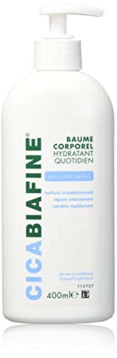 ボールオーナメント持つCICABIAFINE Baume Hydratant Corporel Quotidien Peaux Tr鑚 S鐵hes (400 ml)