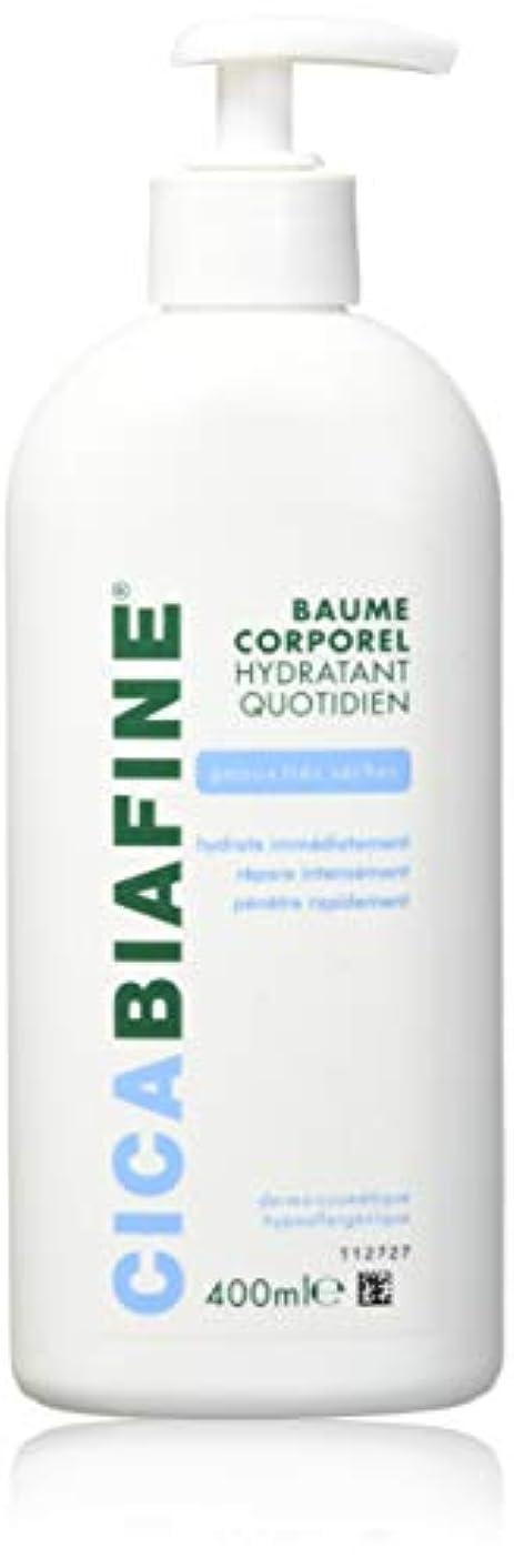 学生うつ白いCICABIAFINE Baume Hydratant Corporel Quotidien Peaux Tr鑚 S鐵hes (400 ml)