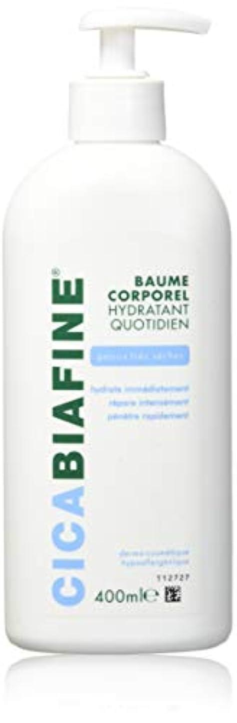 腐食する良いショップCICABIAFINE Baume Hydratant Corporel Quotidien Peaux Tr鑚 S鐵hes (400 ml)