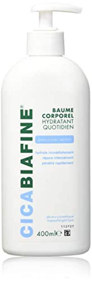 エコー原子炉どっちCICABIAFINE Baume Hydratant Corporel Quotidien Peaux Tr鑚 S鐵hes (400 ml)