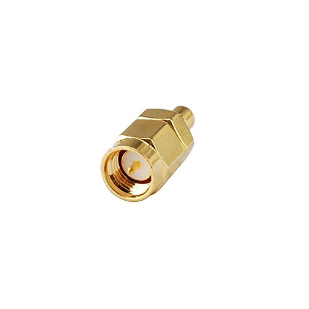 同性愛者タンカー原始的なDHT Electronics RF同軸同軸アダプタコネクタSMAオス - SMBオス