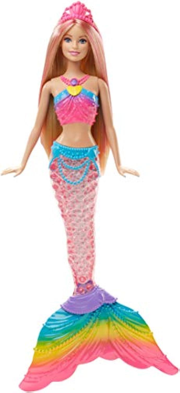 輸入バービー人形 Barbie Rainbow Lights Mermaid Doll [並行輸入品]