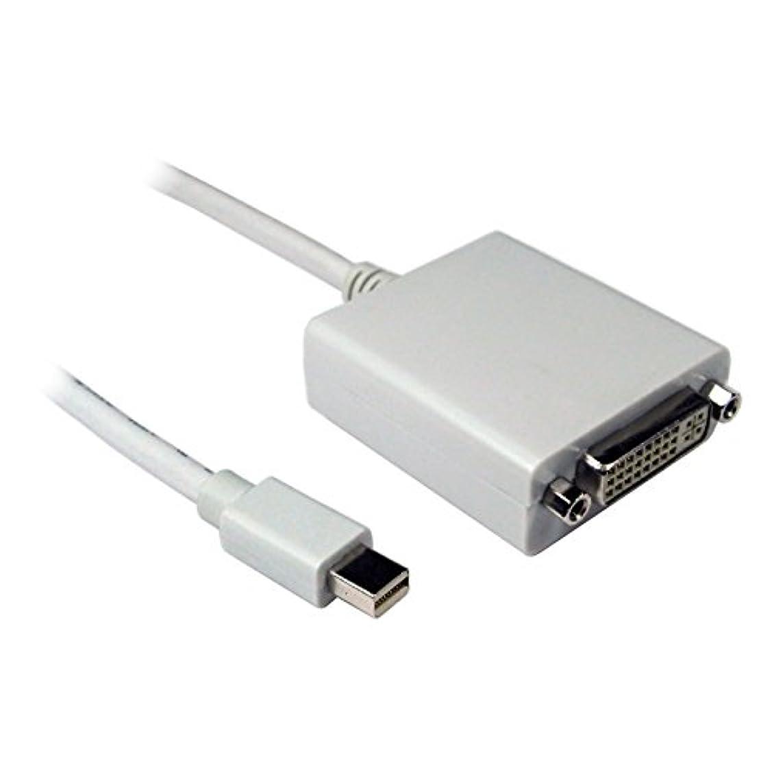 証明する講師二十kenable Mini Displayポートプラグto DVI - Dメスソケットパッシブアダプタケーブル2 M ( ~ 6フィート)